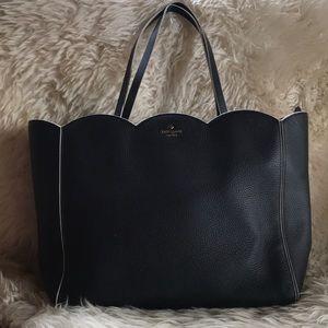 NWOT Kate Spade Rainn Scalloped Tote Bag